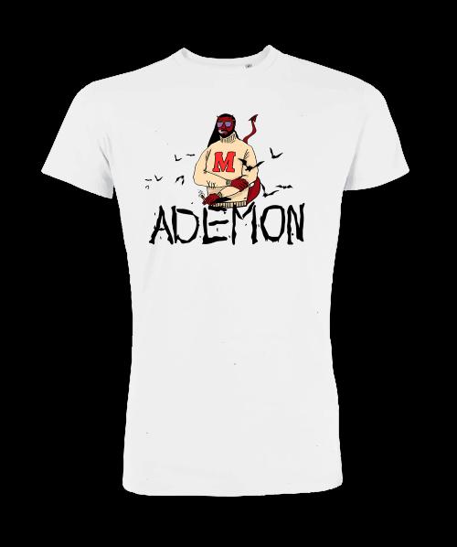 Tee Ademon Blanc