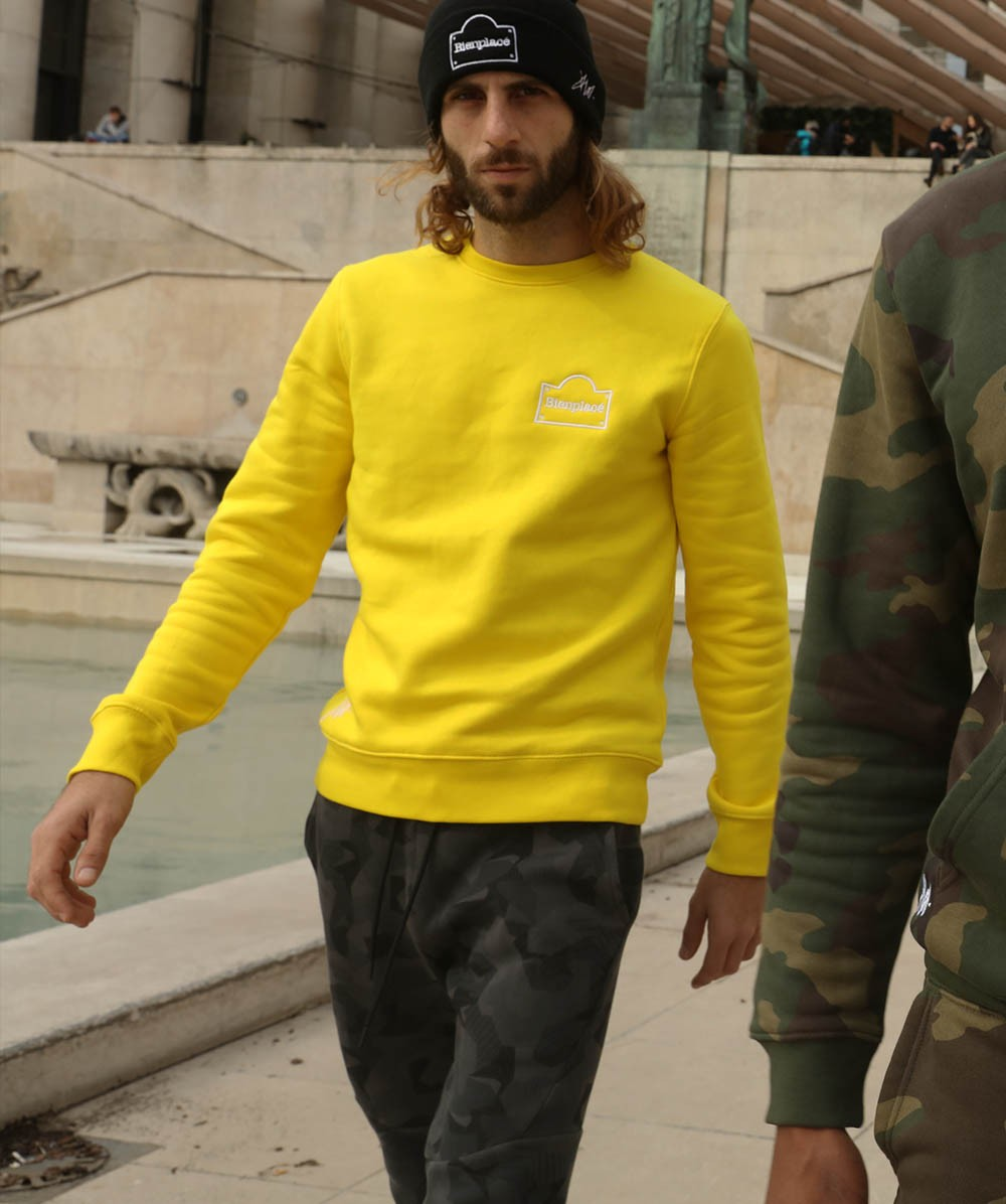 Crewneck Sweat Yellow