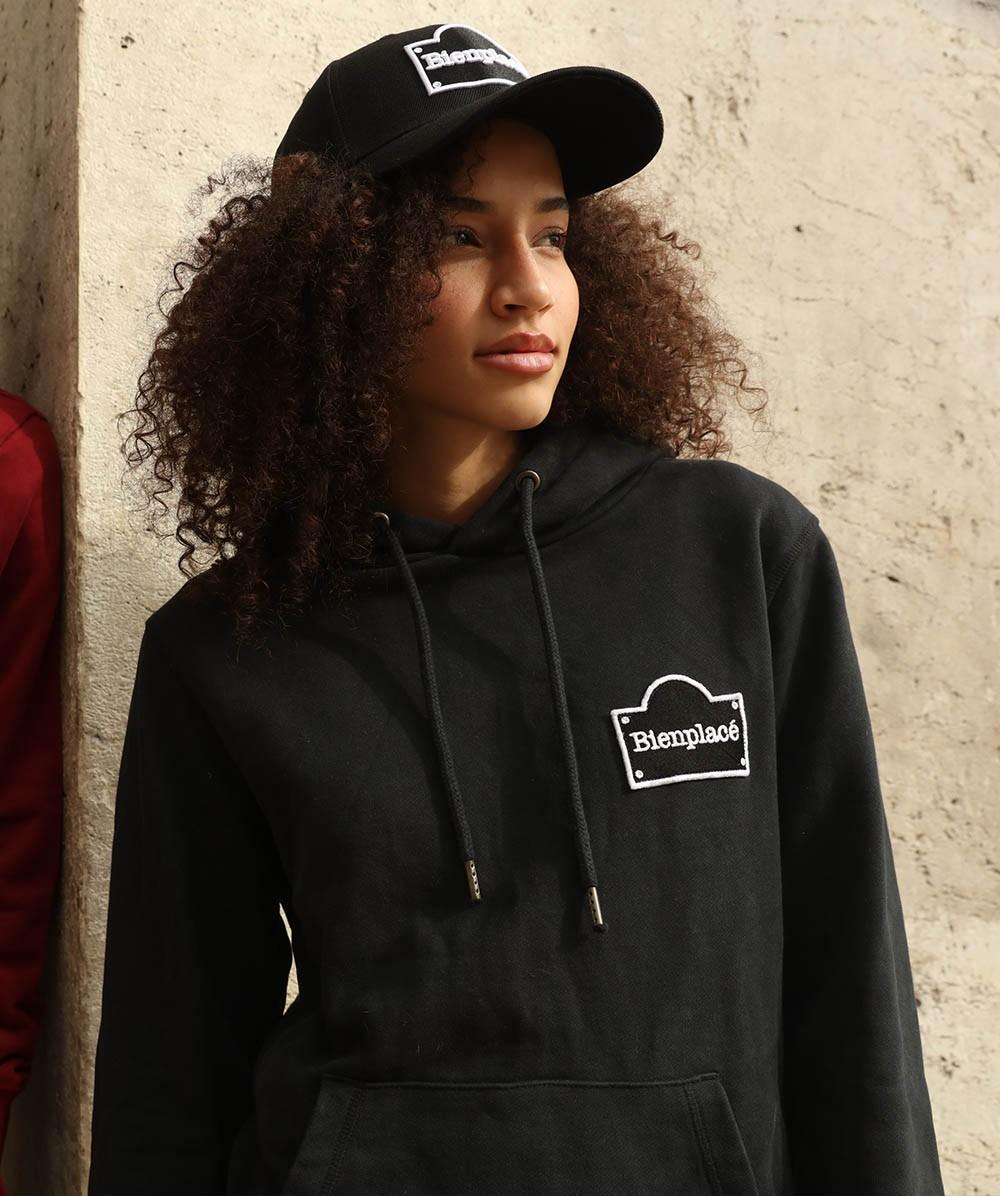 Hoodie Unisex Black