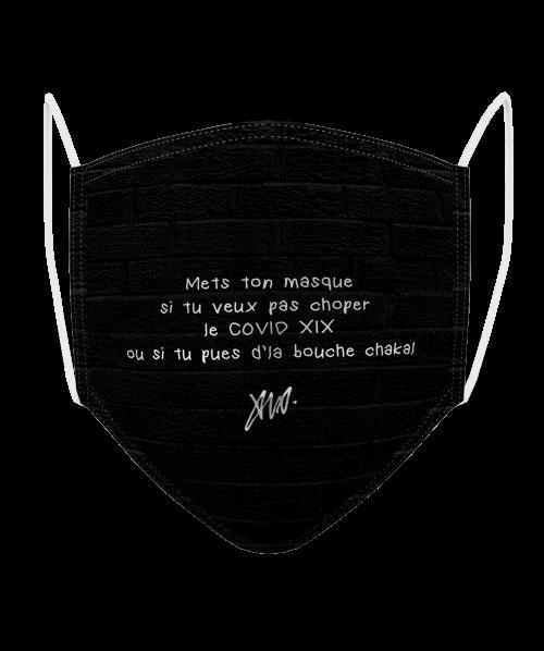 Masque Logo BP Brique