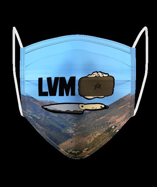 Masque Logo LVM Hash