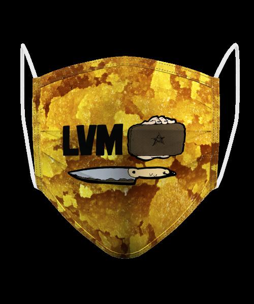 Masque Logo LVM Hash 2