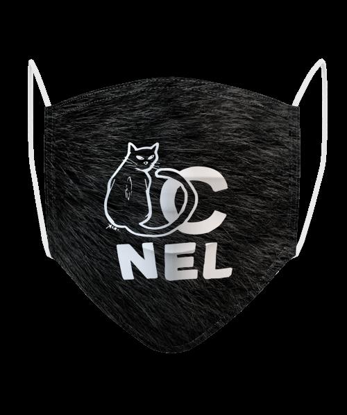 Masque Logo Chat Nel