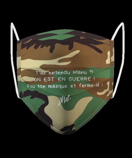 Masque Logo Camo
