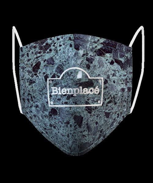 Masque Logo Brique Marbre