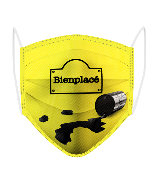Masque Logo Philippe Plein