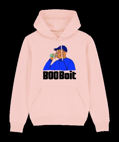 Sweat Capuche Rose BooBoit