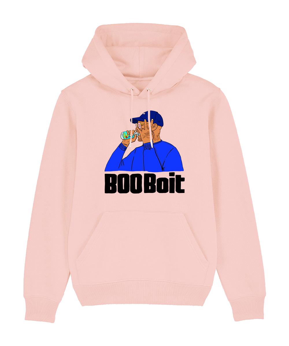 Sweat Capuche Rose BooBois