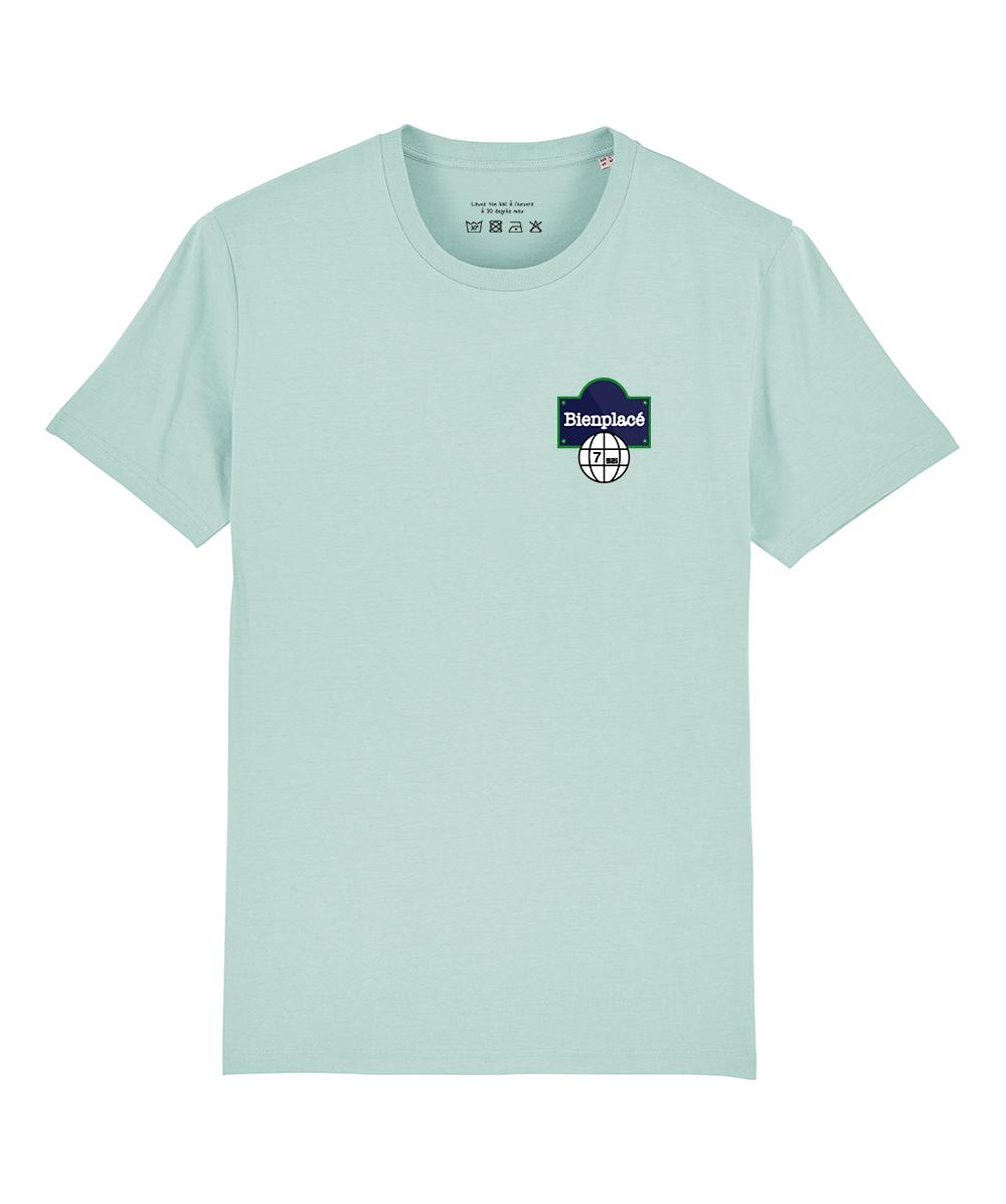 T Shirt Buuba bleu